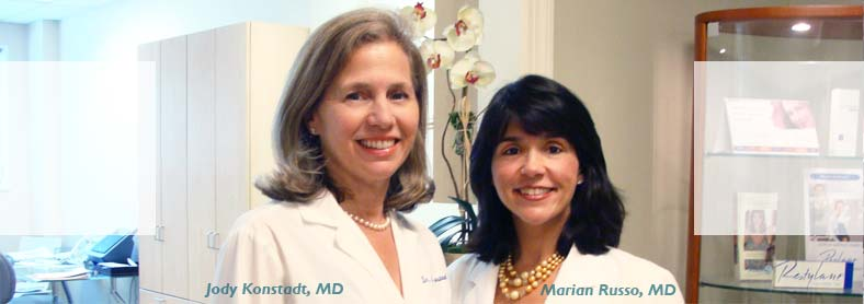 Dr. Jody Konstadt, MD and Dr. Marian Russo, MD dermatologists in Scarsdale-Westchester